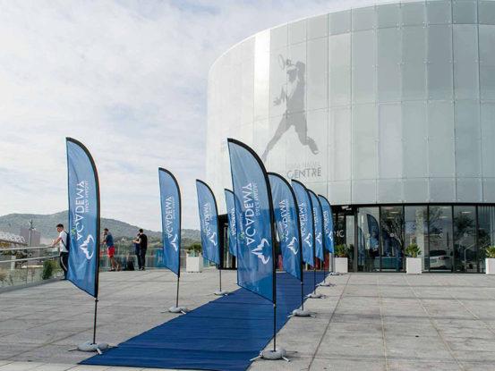 Mabull Events | Proyectos | Rafa Nadal Academy: Roger Federer & Rafa Nadal (1)