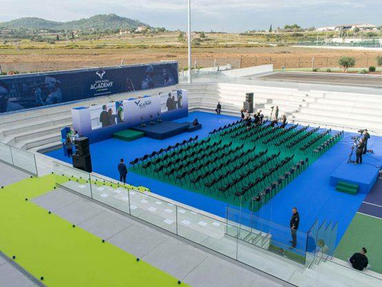 Mabull Events | Proyectos | Rafa Nadal Academy: Roger Federer & Rafa Nadal (2)
