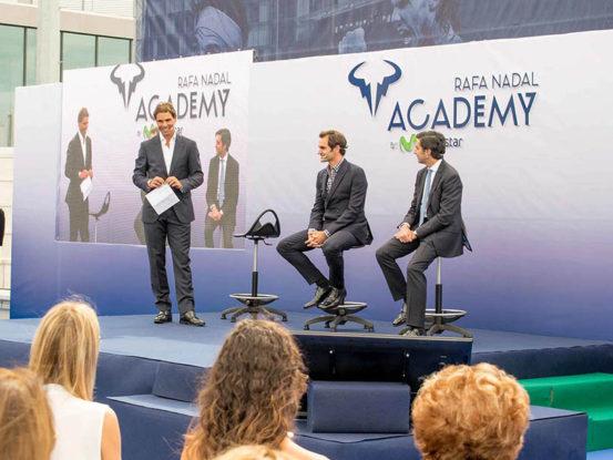 Mabull Events   Projectes   Rafa Nadal Academy: Roger Federer & Rafa Nadal (4)