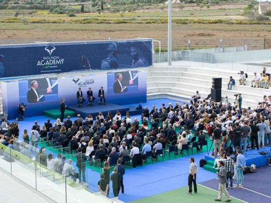 Mabull Events   Projectes   Rafa Nadal Academy: Roger Federer & Rafa Nadal (5)