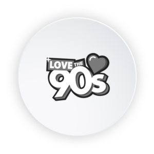 Mabull Events | Projects | Love the 90s | Logo