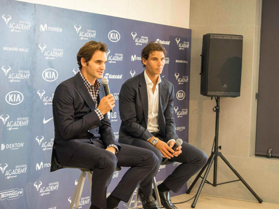 Mabull Events   Projects   Rafa Nadal Academy: Roger Federer & Rafa Nadal (8)