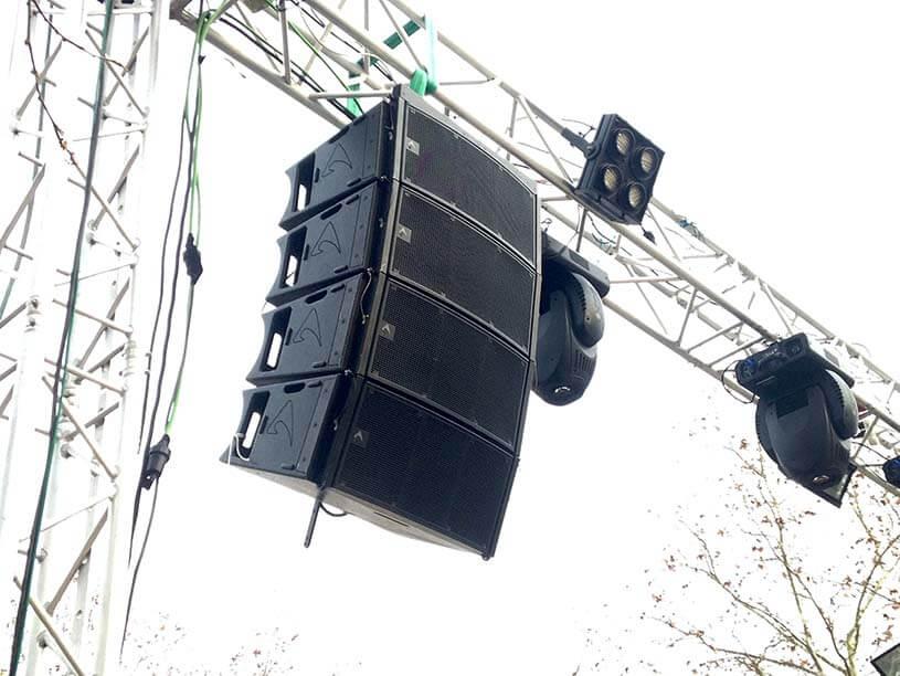 Mabull Events | Servicios | Material audiovisual: Sonorización profesional