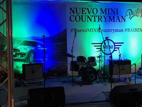 Mabull Events | Proyectos | MINI: Nuevo Countryman (1)