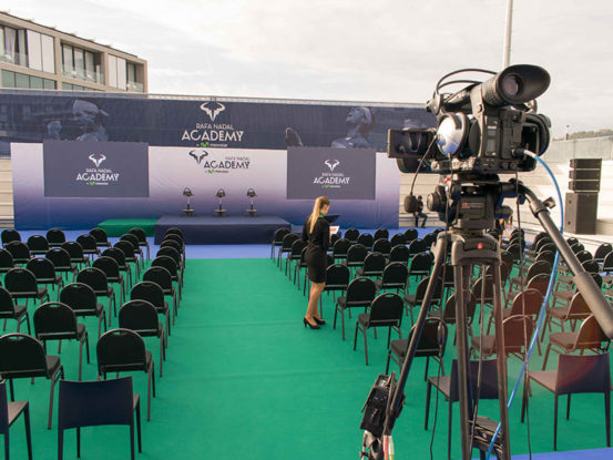 Mabull Events | Projectes | Rafa Nadal Academy: Roger Federer & Rafa Nadal (3)