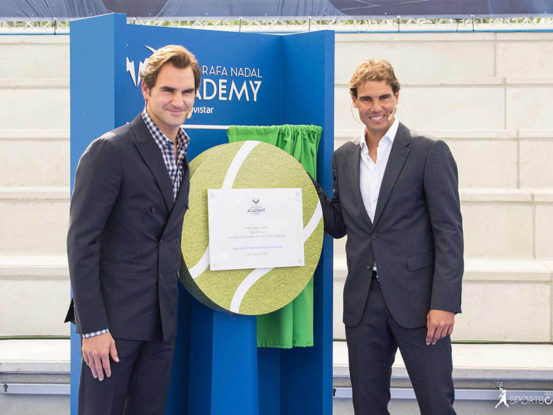 Mabull Events | Projectes | Rafa Nadal Academy: Roger Federer & Rafa Nadal (7)