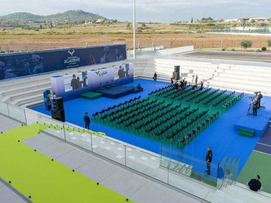 Mabull Events | Projects | Rafa Nadal Academy: Roger Federer & Rafa Nadal (2)