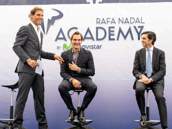 Mabull Events | Projects | Rafa Nadal Academy: Roger Federer & Rafa Nadal (6)