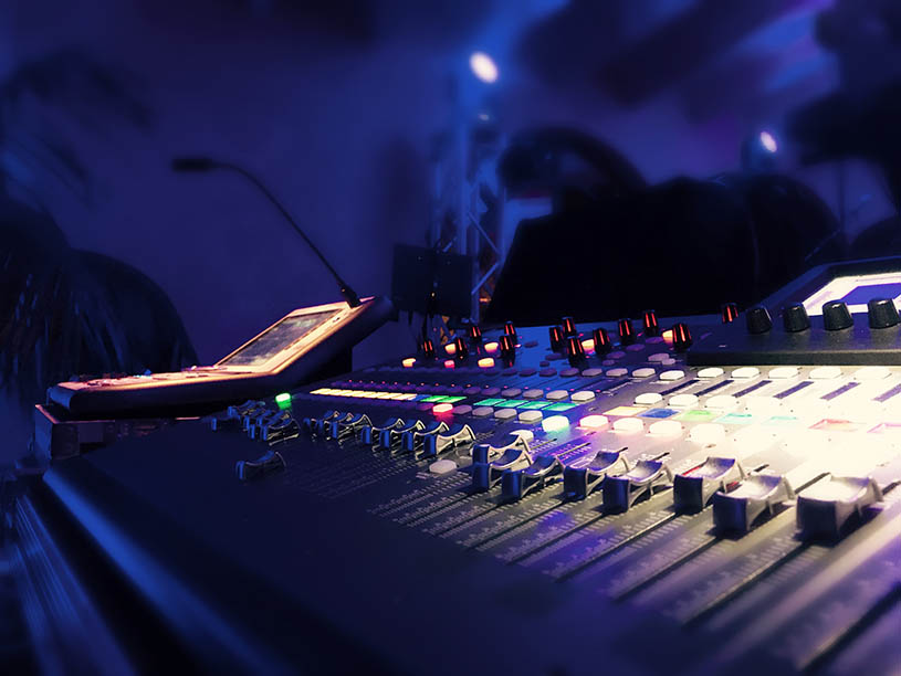 Mabull Events | Serveis | Material audiovisual: Sonorització professional