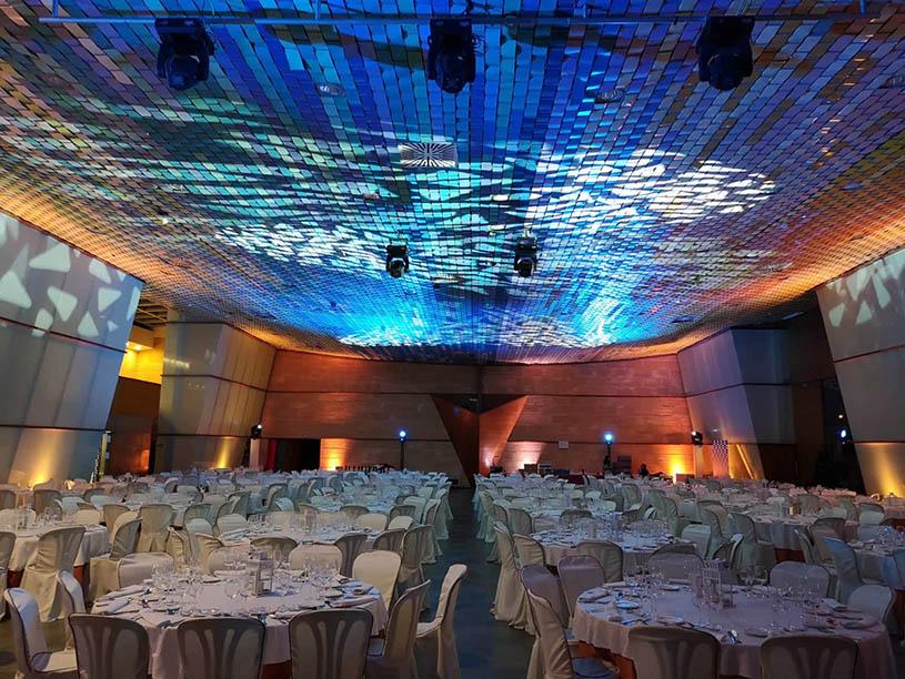 Mabull Events | Servicios | Material audiovisual: Iluminación profesional